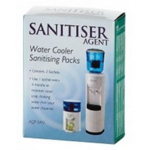 water filter or cooler sanitiser
