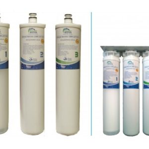 3 Stage Quick Change Water Filter Cartridge