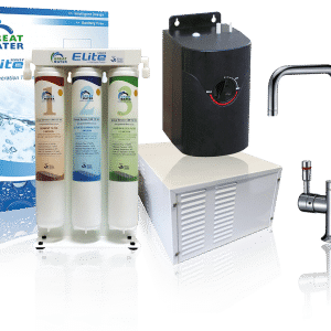 Great Water Filters Boiling, Chilled, and Sparkling range