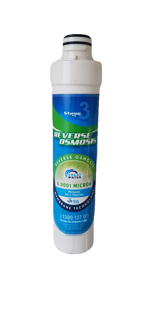 Fluoride removal water filtration system