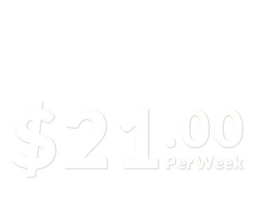 from $21 per week