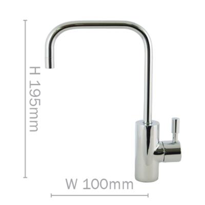 Petite standard filter faucet